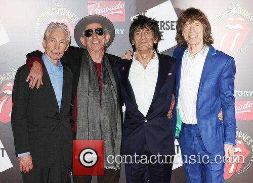 Charlie Watts, Keith Richards, Mick Jagger, Rolling Stones and Ronnie Wood 6
