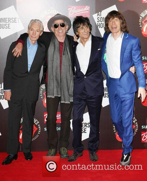 Charlie Watts, Keith Richards, Mick Jagger, Rolling Stones and Ronnie Wood 7