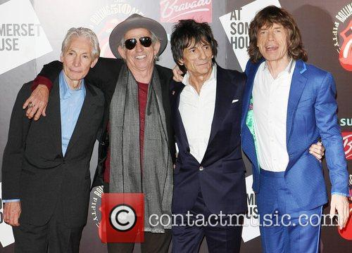 Charlie Watts, Keith Richards, Mick Jagger, Rolling Stones and Ronnie Wood 8