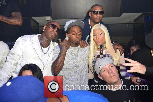 Birdman, Lil Wayne and Nicki Minaj 4