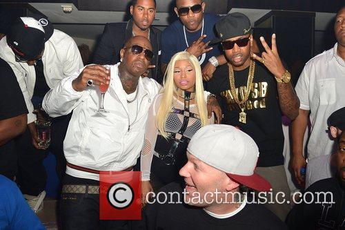 Birdman, Fred Durst and Nicki Minaj 3
