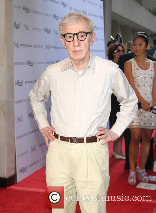 Woody Allen The Cinema Society With The Hollywood...