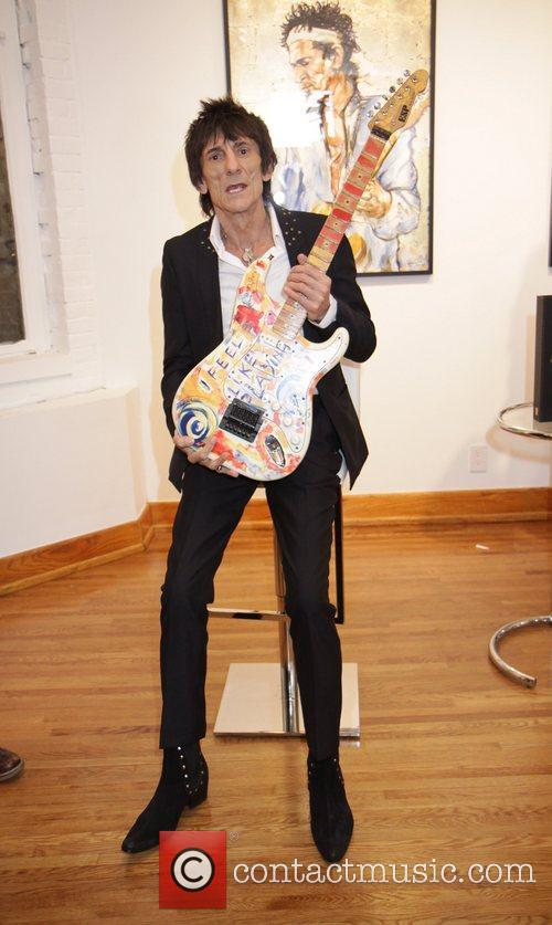 Ronnie Wood and Rolling Stones 6