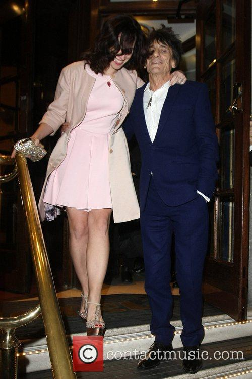 The wedding reception of Ronnie Wood and...