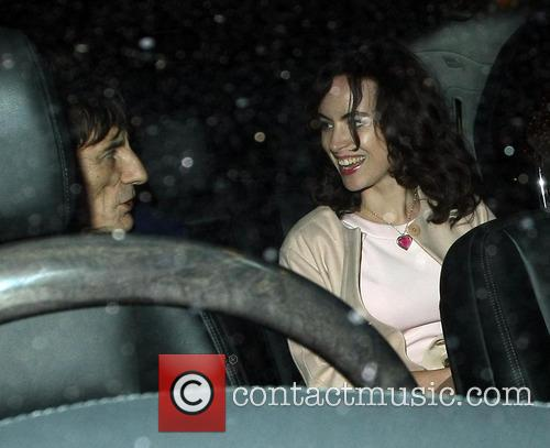 Ronnie Wood and Sally Humphreys 11