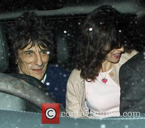 Ronnie Wood and Sally Humphreys 10