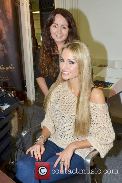 Former Miss World, Playboy, Rosanna Davison, Christmas, Ceira Lambert, Celebrity Salon, South William Street, Dublin and Ireland 4