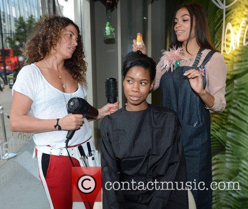 Rosario Dawson, Tallulah Adeyemi and Tara Smith 8