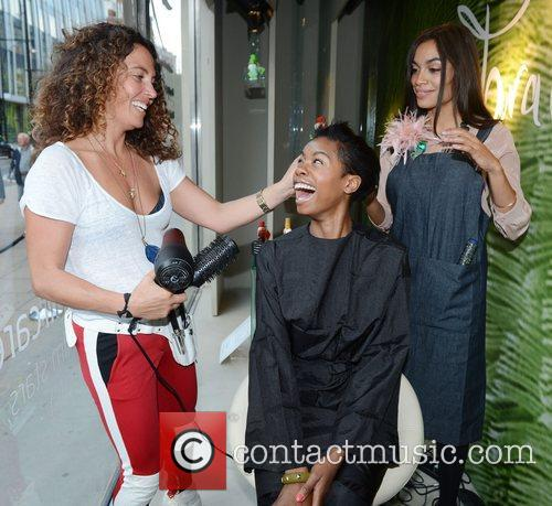 Rosario Dawson, Tallulah Adeyemi and Tara Smith 4