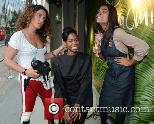 Rosario Dawson, Tallulah Adeyemi and Tara Smith 11