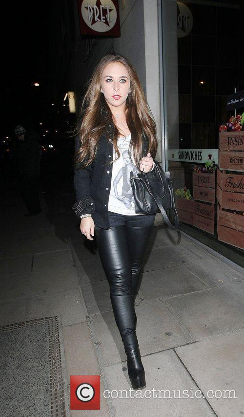 Chloe Green,  at the Rose Club for...