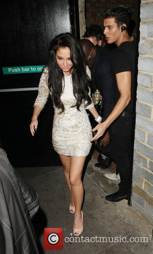 Tulisa Contostavlos,  at the Rose Club for...