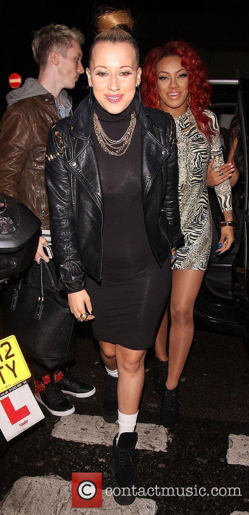 Courtney Rumbold of Stooshe,  at the Single...
