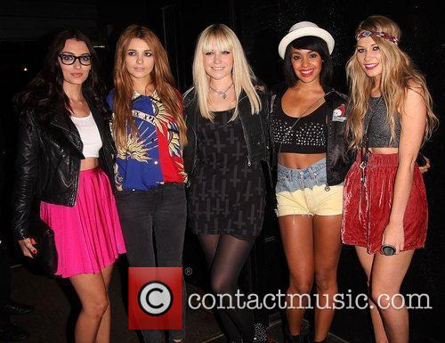 Girl band, Parade,  at the Single Party...