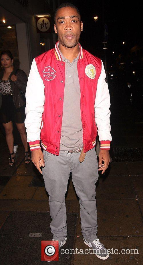 Rapper, Wiley,  at the Single Party held...