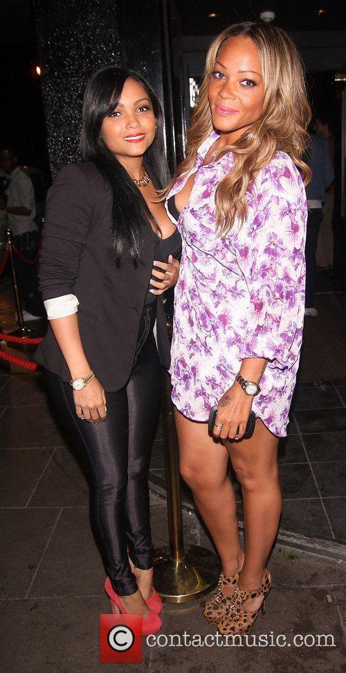 Singer Shola Ama (right),  at the Single...