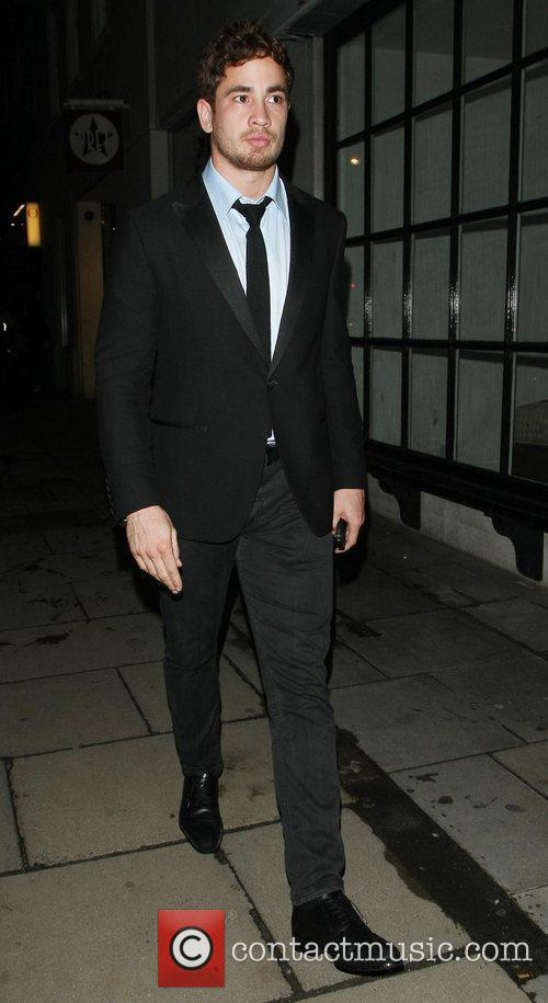 Danny Cipriani leaves the Rose Club London, England