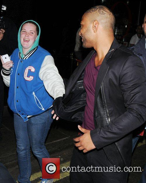 Jonathan 'JB' Gill JLS leave the Rose Club...