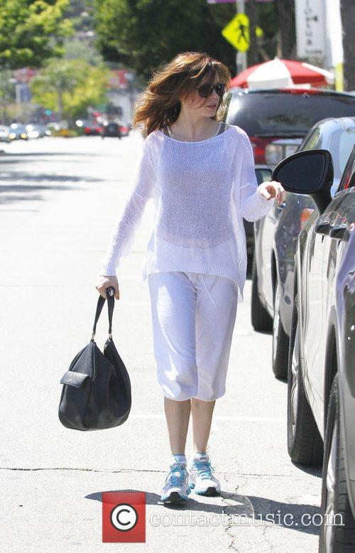 Rose McGowan out and about in Studio City