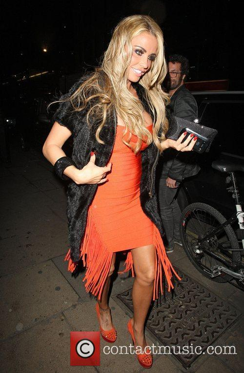 katie price arriving at the rose nightclub 3700226
