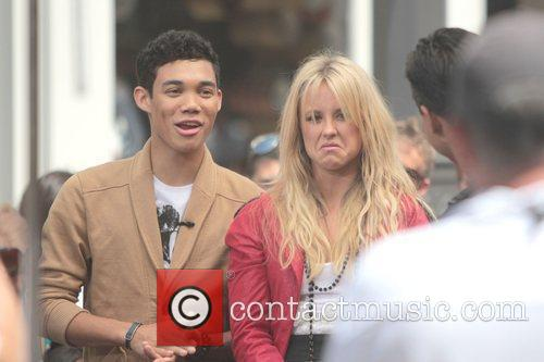 Roshon Fegan and Chelsie Hightower 4