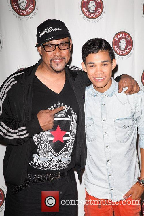 Disney Star Roshon Fegan  promotes his EP...