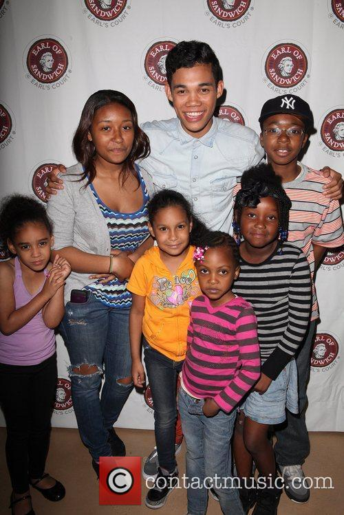 Disney and Roshon Fegan 1