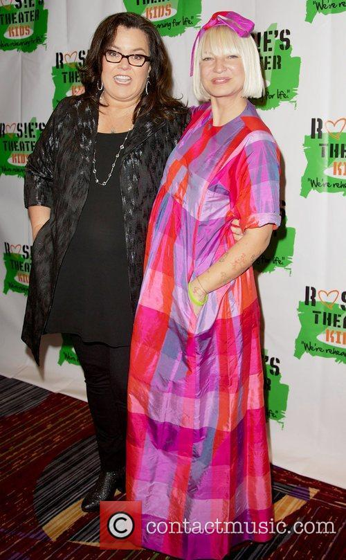 Rosie O'Donnell and Sia Furler Rosie O'Donnell's Annual...