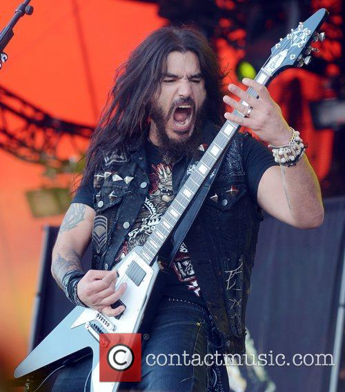 machine head perform at roskilde festival denmark  080712 3983324