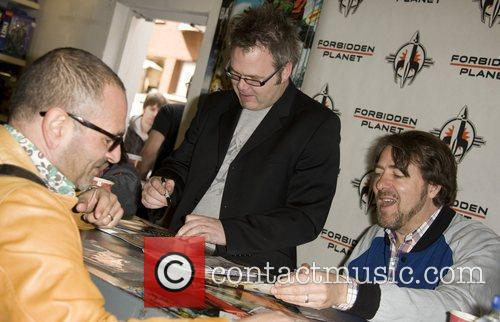 Jonathan Ross and Bryan Hitch launch their new...