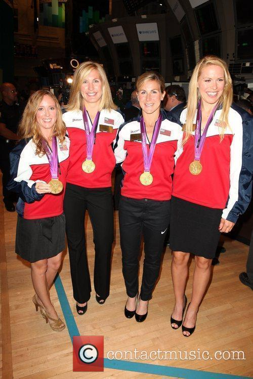 U.S. Women's 2012 Olympic Rowing Gold Medal Team...