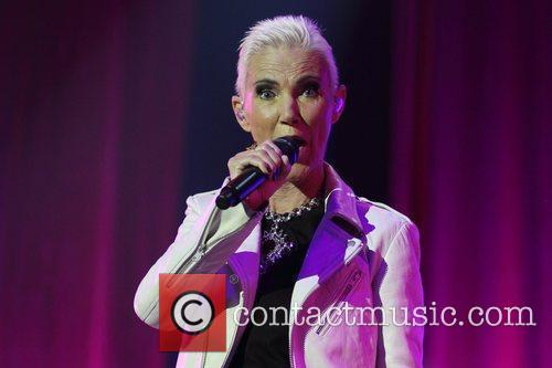 The band Roxette perform at Challenge Stadium