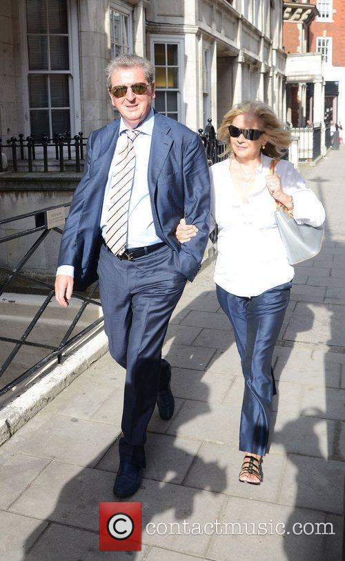 Out and about in Mayfair