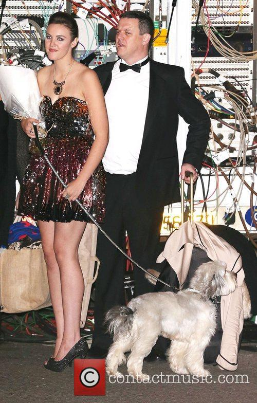 Ashleigh Butler and her dog Pudsey,  leaving...