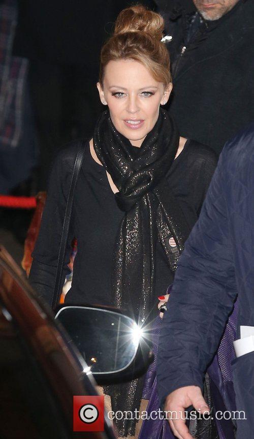 Kylie Minogue and Royal Albert Hall 3