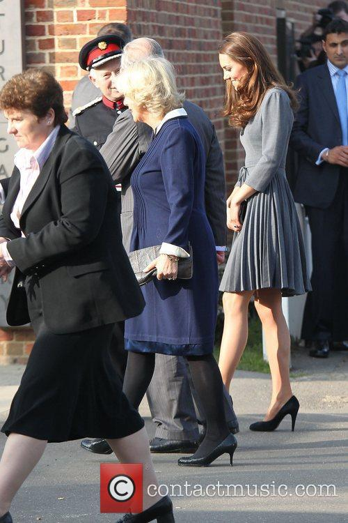 Duchess, Kate Middleton, Prince Charles and The Duchess Of Cornwall 23