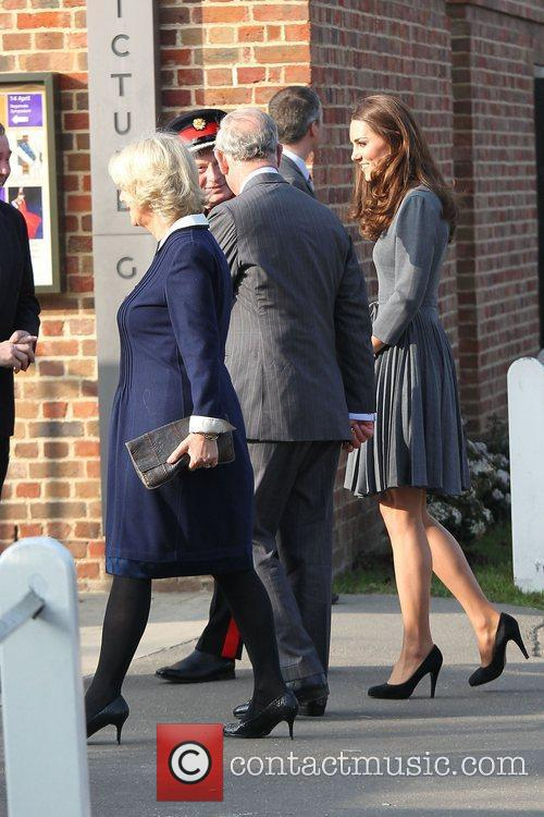 Duchess, Kate Middleton, Prince Charles and The Duchess Of Cornwall 27