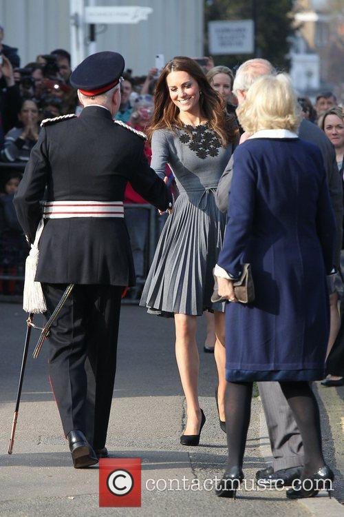 Duchess, Kate Middleton, Prince Charles and The Duchess Of Cornwall 29