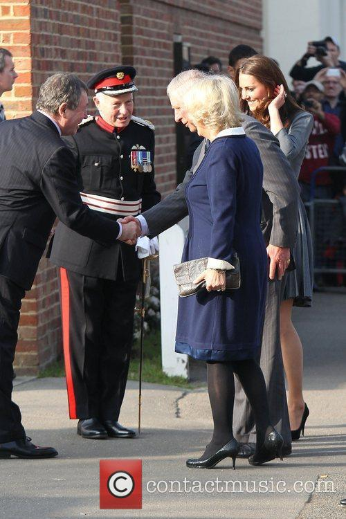 Duchess, Kate Middleton, Prince Charles and The Duchess Of Cornwall 31