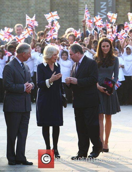 Duchess, Kate Middleton, Prince Charles and The Duchess Of Cornwall 51