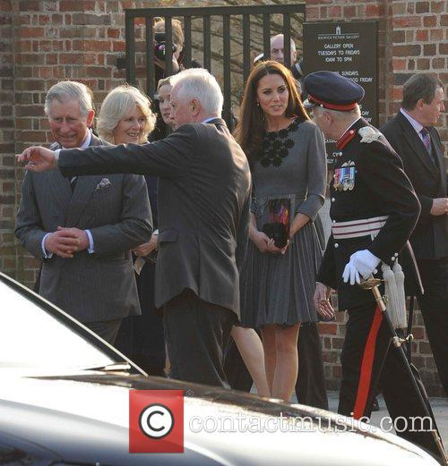 Duchess, Kate Middleton, Prince Charles and The Duchess Of Cornwall 57