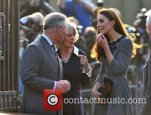 Duchess, Kate Middleton, Prince Charles and The Duchess Of Cornwall 59