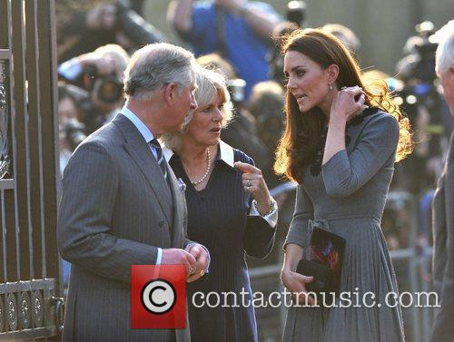 Duchess, Kate Middleton, Prince Charles and The Duchess Of Cornwall 61