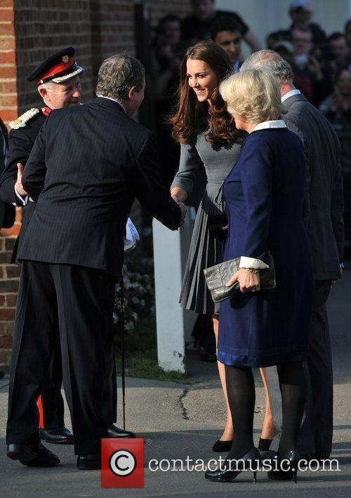 Duchess, Kate Middleton, Prince Charles and The Duchess Of Cornwall 2
