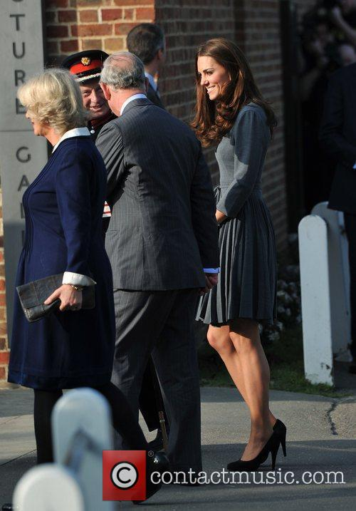Duchess, Kate Middleton, Prince Charles and The Duchess Of Cornwall 3