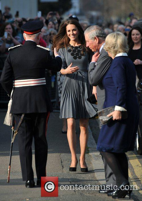 Duchess, Kate Middleton, Prince Charles and The Duchess Of Cornwall 4