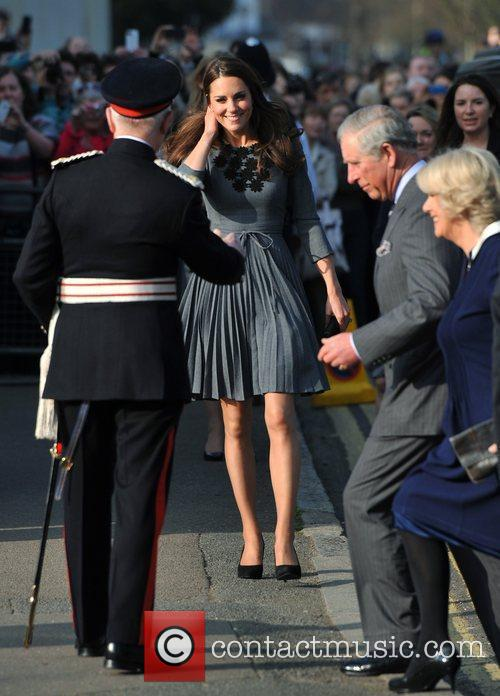 Duchess, Kate Middleton, Prince Charles and The Duchess Of Cornwall 5