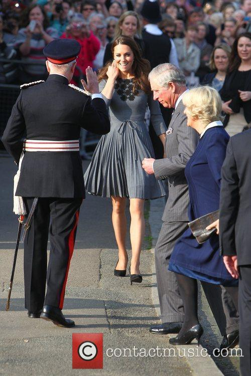 Duchess, Kate Middleton, Prince Charles and The Duchess Of Cornwall 9