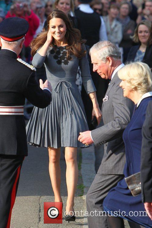 Duchess, Kate Middleton, Prince Charles and The Duchess Of Cornwall 12