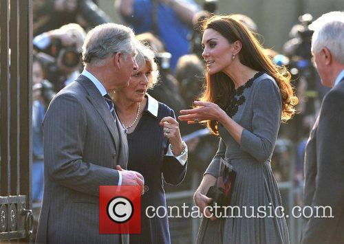 Duchess, Kate Middleton, Prince Charles and The Duchess Of Cornwall 15